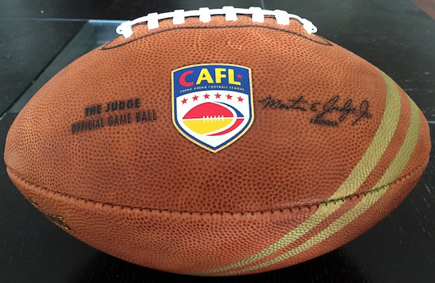 NEW CAFL OFFICIAL Marty Judge BALL